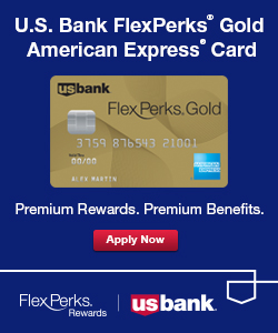 U.S. Bank FlexPerks Gold Banner Ad