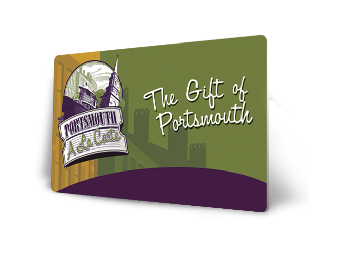 Portsmouth A la Carte Card