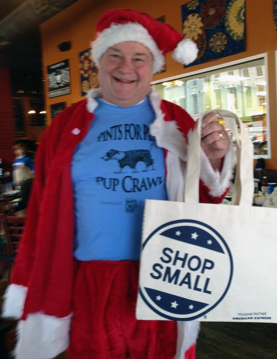 shop small saturday danville ky santa