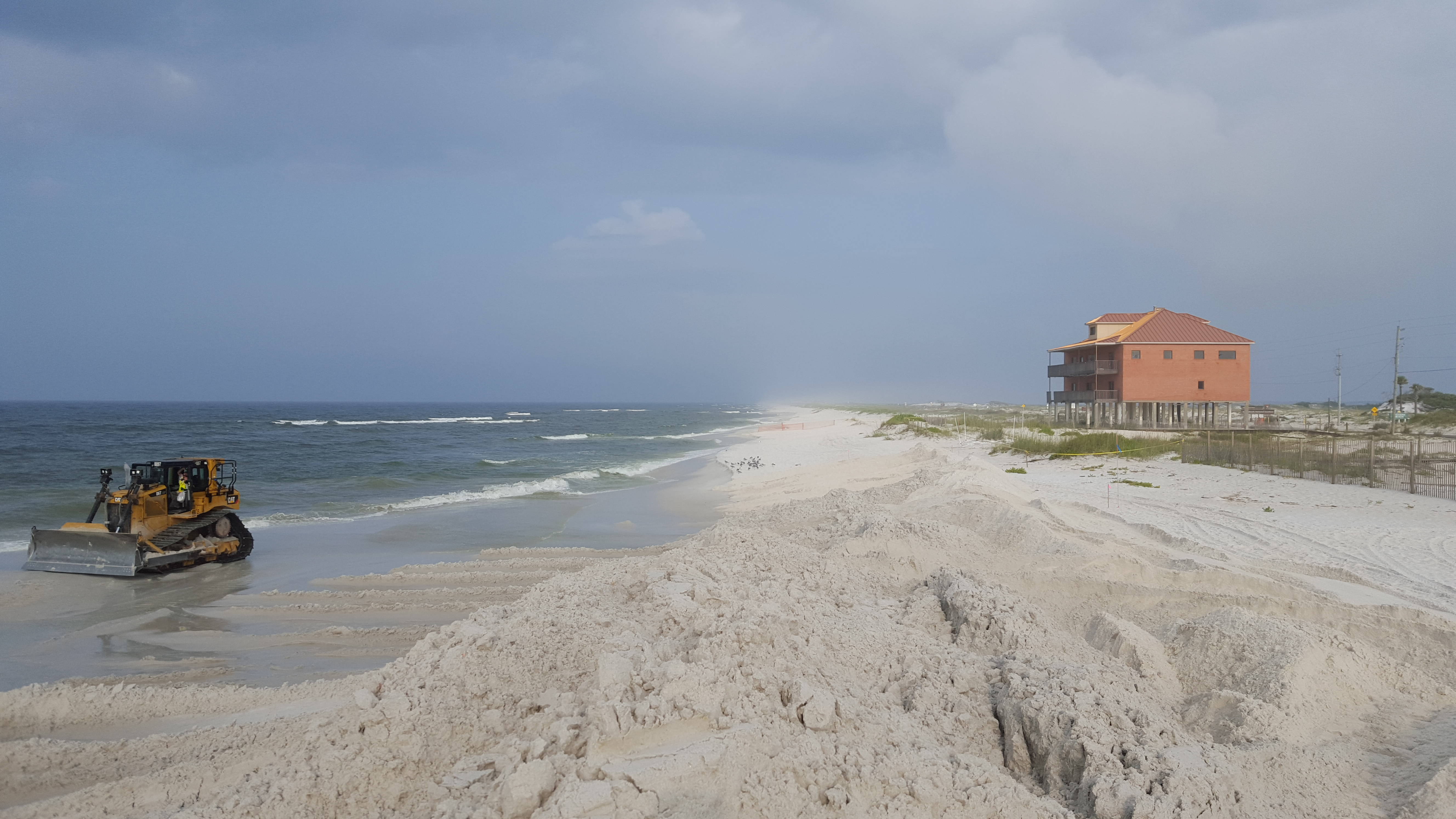 Dredging Operations Should Be Completed This Weekend The Final Area Is Being Competed At Time 7315 Gulf Blvd Or Near Western End