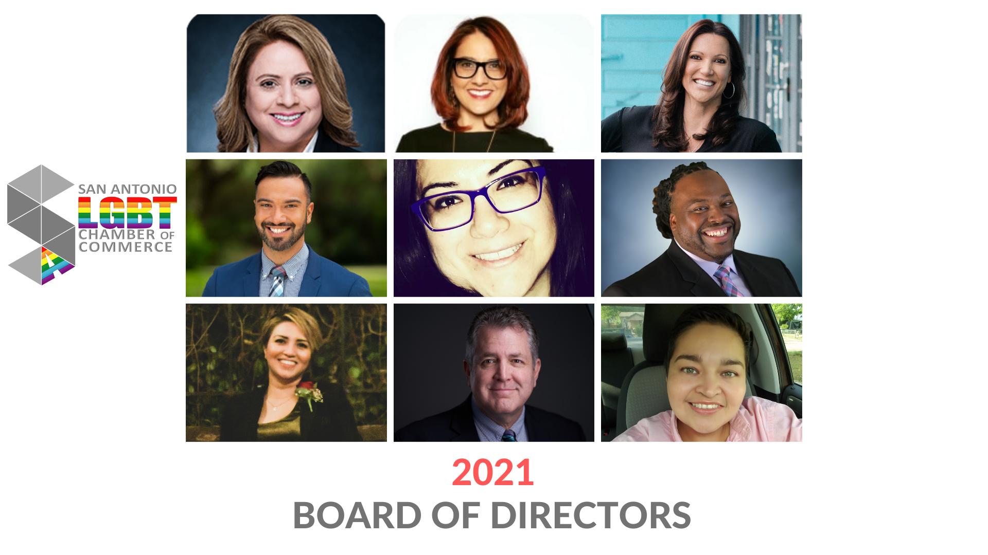 2021 SA LGBT Chamber Of Commerce Board of Directors