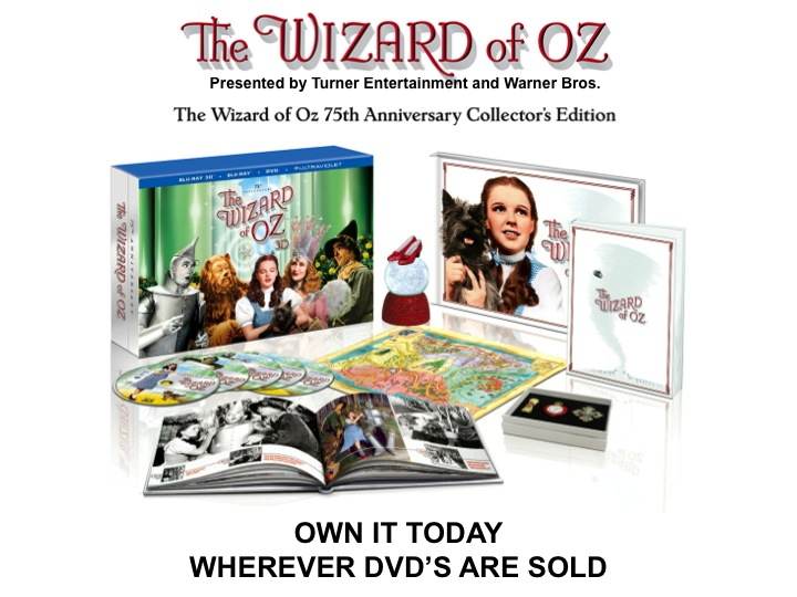 Warner Bros 75th Annivervary edition of the wizard of oz