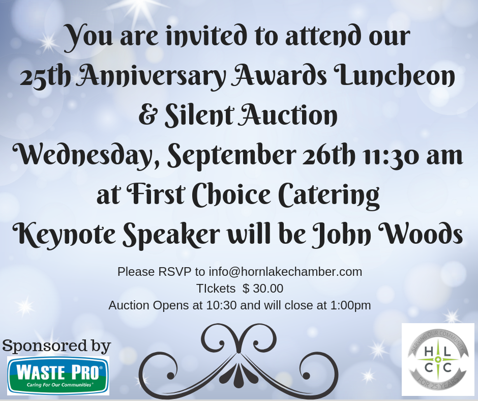 25th Anniversary Luncheon Auction