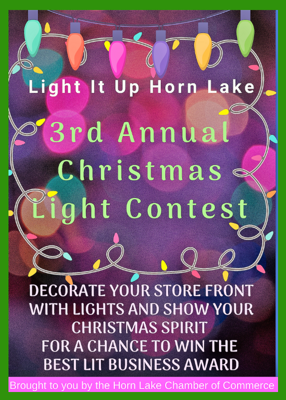 Light it Up Horn Lake 3rd Annual Christmas Decoration Contest