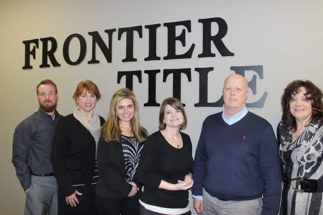 Johnson Creek Welcomes Frontier Title LLC!!   Their Johnson Creek Office services Dodge, Jefferson, Walworth, and Dane Counties.  They handle title closings and new construction services.  They are very excited about their new Johnson Creek location and ask people to check them out at www.frontiertitlellc.com   Pictured from left to right:  Bruce Carroll- Account Executive, Jill Whiting - Closing Agent, Christina Vitulli- Account Executive, Maren Drake- Closing Agent, Try Dittmann- President, and Dawn Starbuck- Vice President-Business Development.