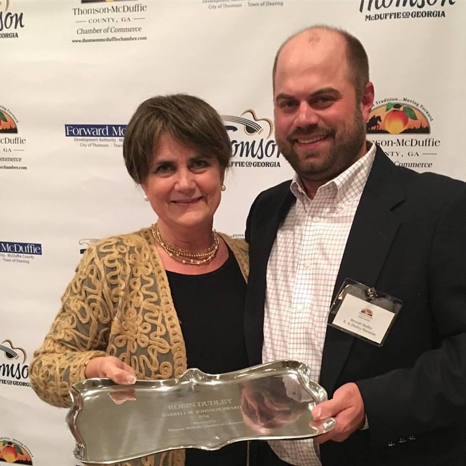 2016 Darrell Johnson Award Recipient