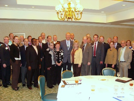 Governor with CIRCLE Attendees