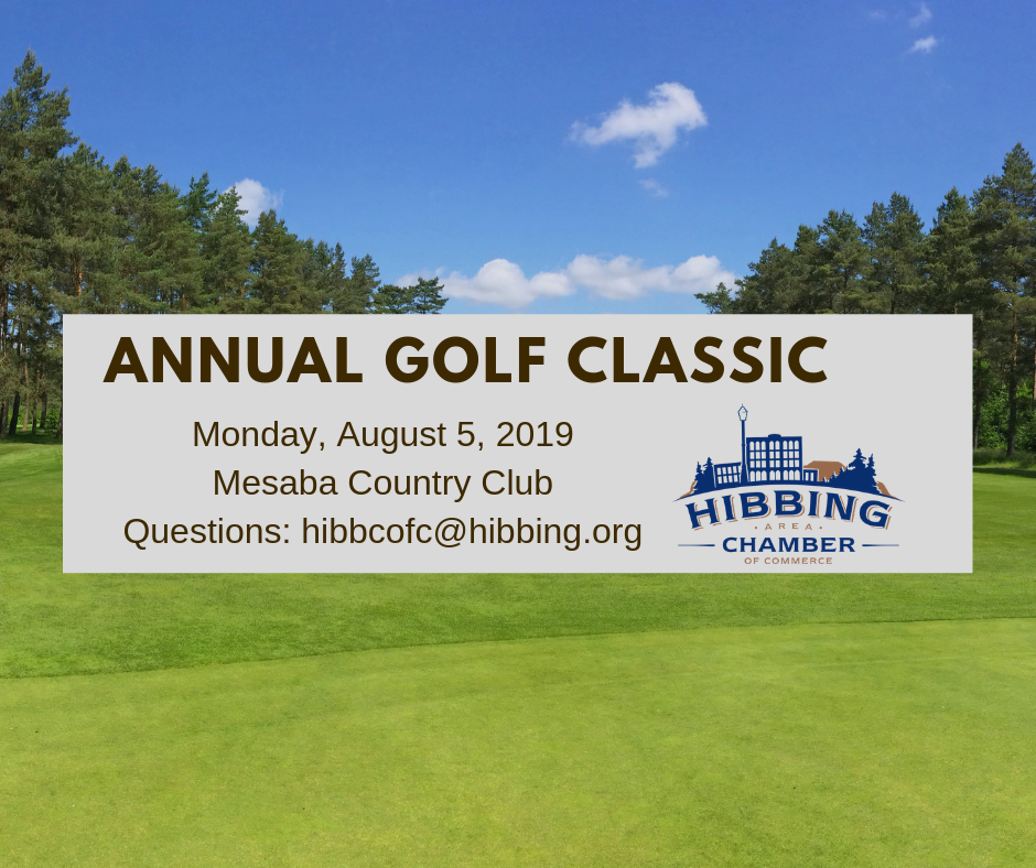 Golf Classic 2019 Save the Date
