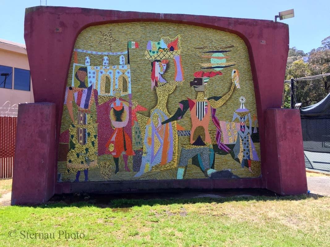 Varda Mural by Susan Sternau