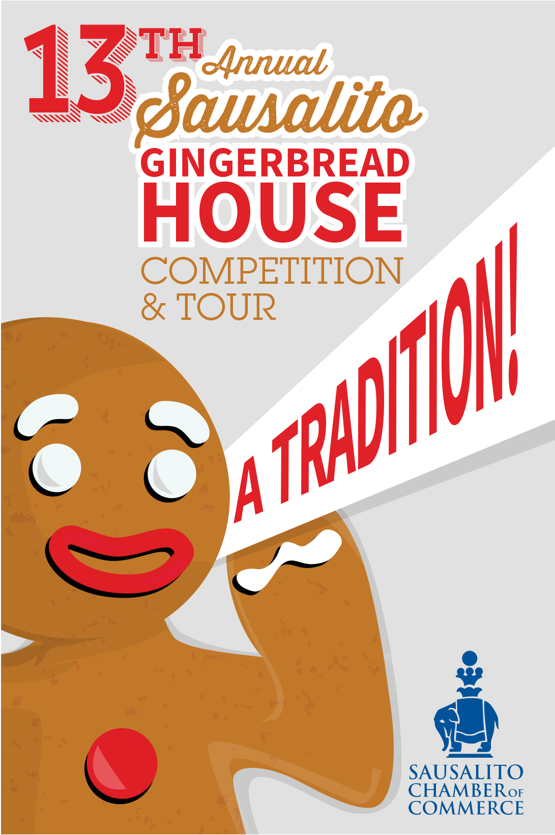 GIngerbread House Tour Map cover