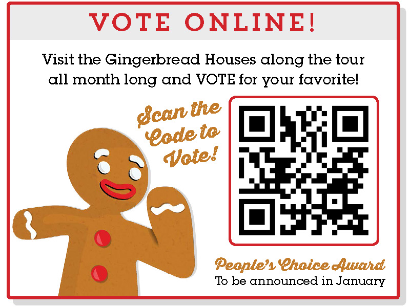 GIngerbread House Vote Portal