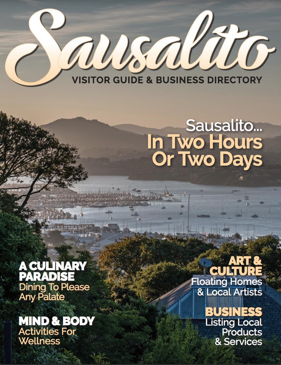 Sausalito Visitor Guide is available!