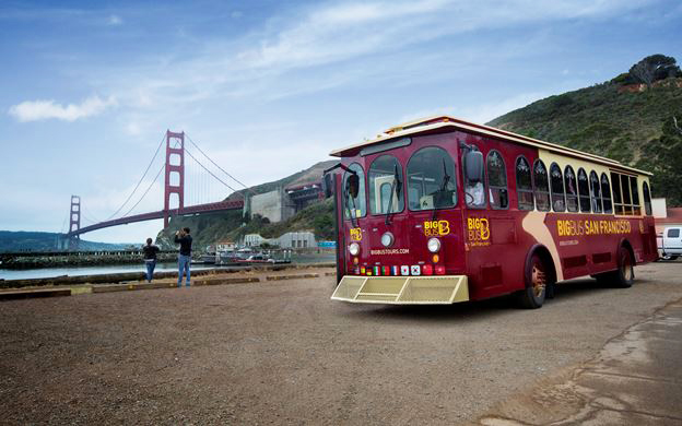 Sausalito Big Bus