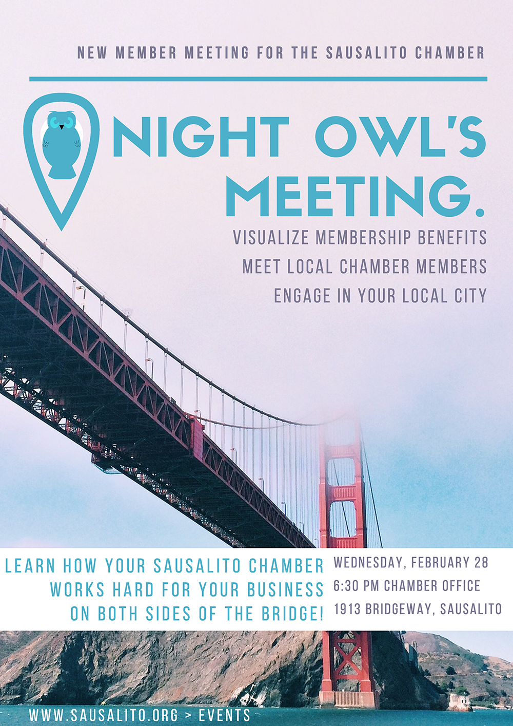 Sausalito Chamber Night Owls