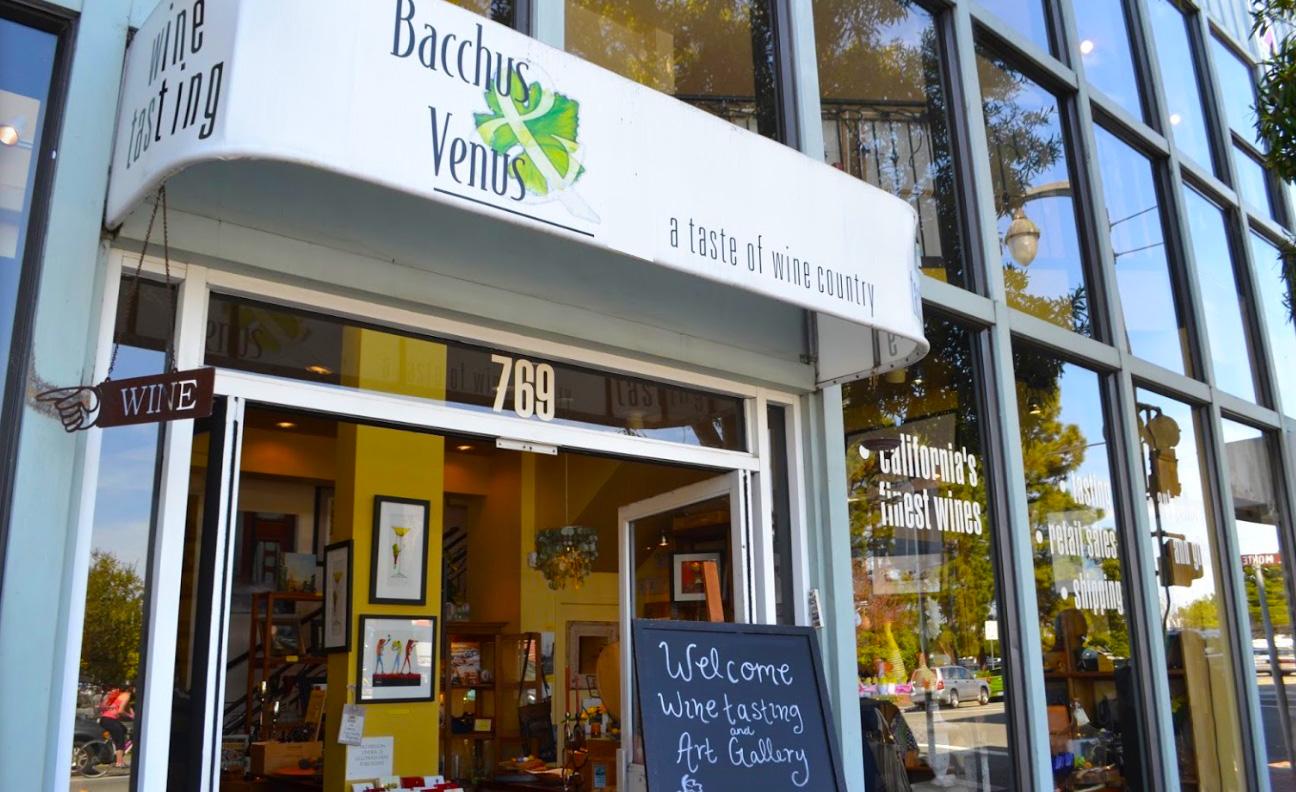 Bacchus & Venus Wine Tasting Room