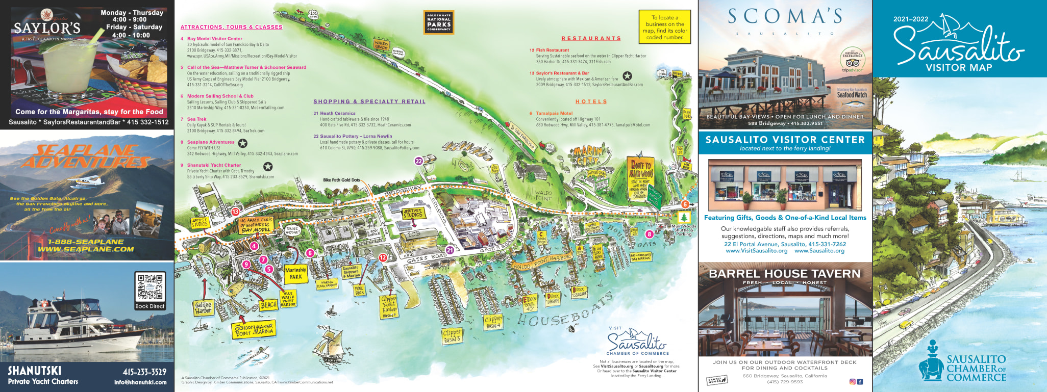 2021-2022 Visitor Map