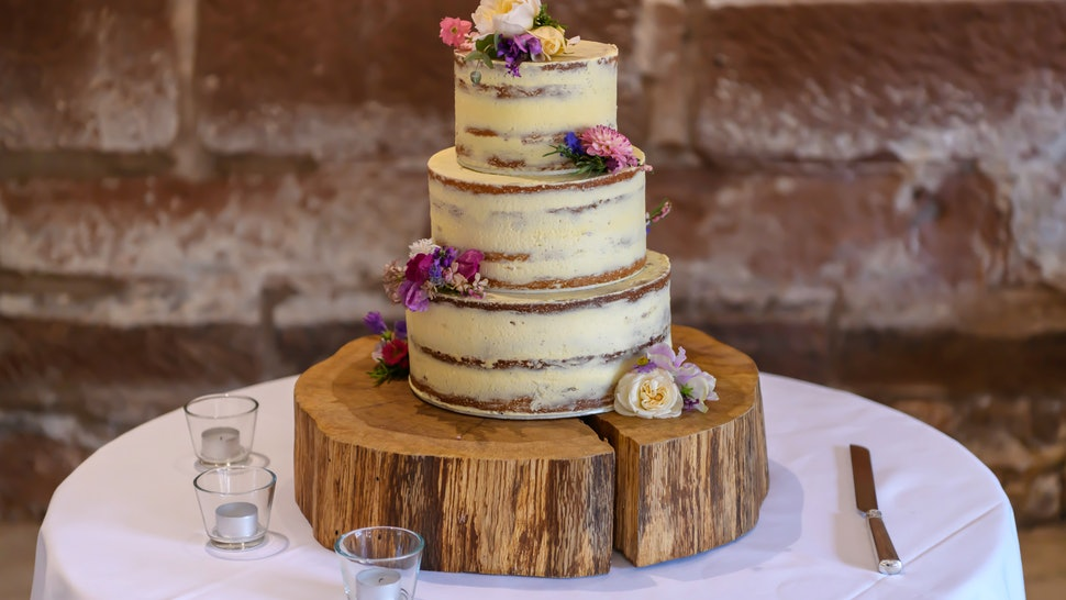 Sausalito Wedding Cake