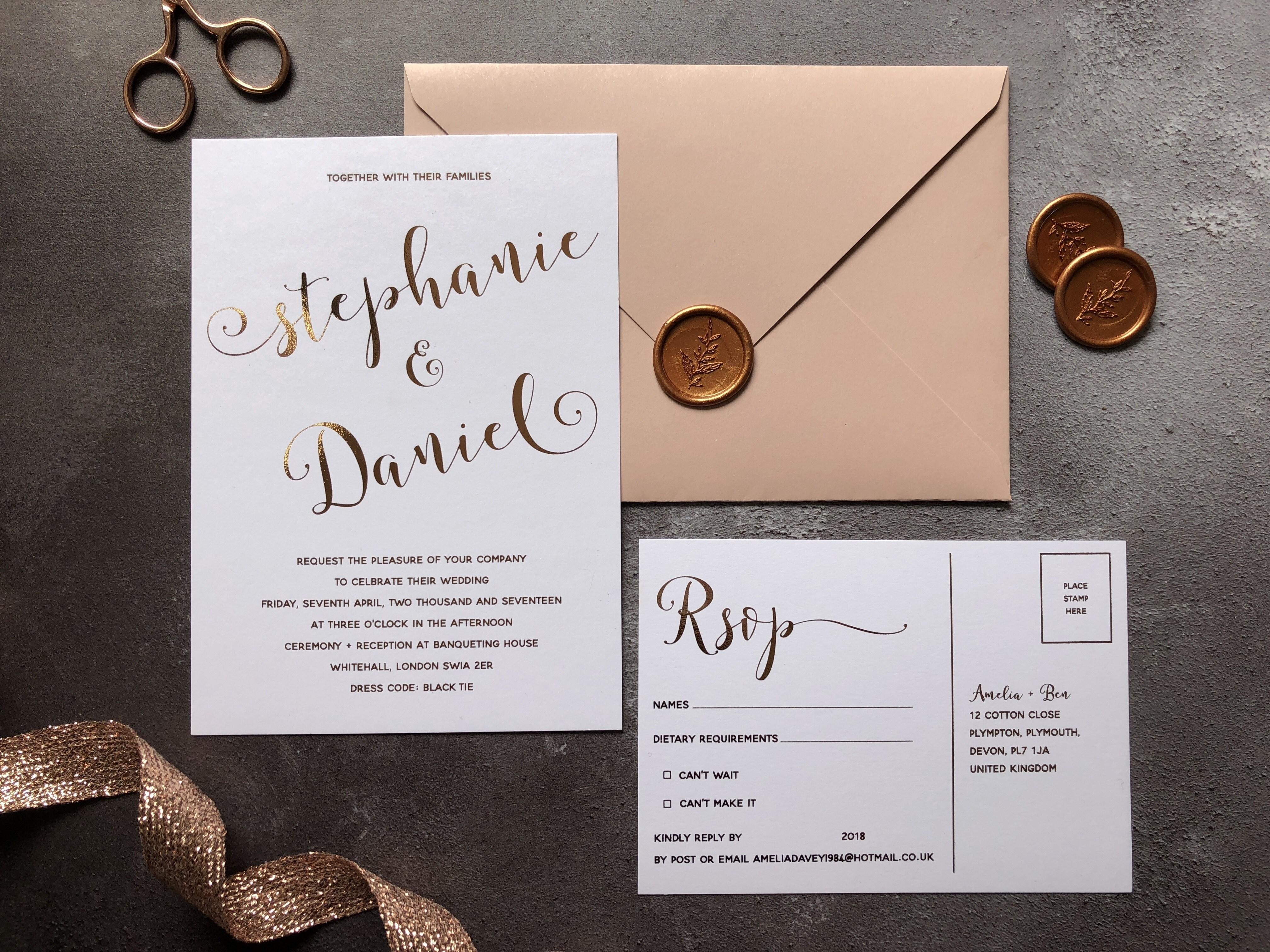 Sausalito Wedding Invitations