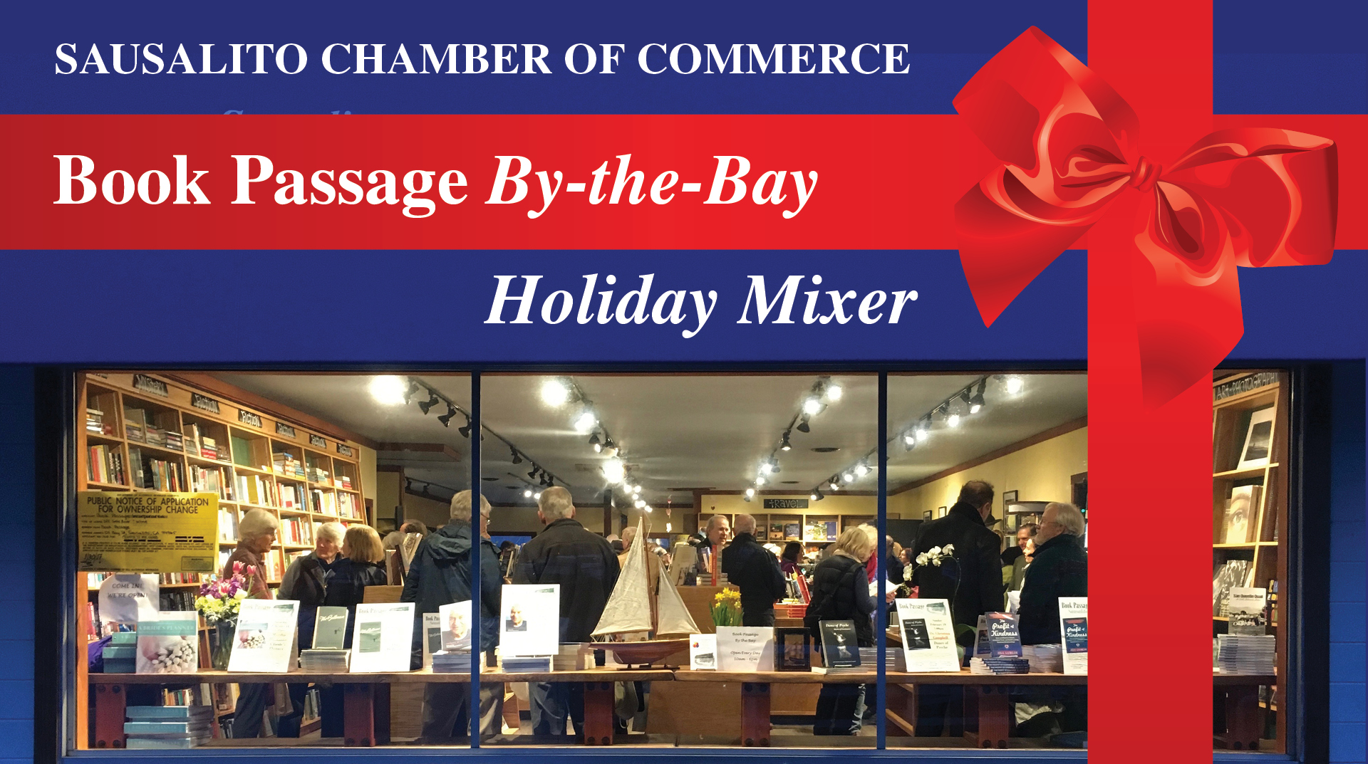 Book Passage by the Bay Mixer