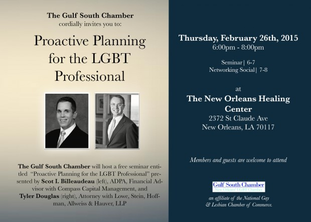 Proactive Planning for the LGBT Professional