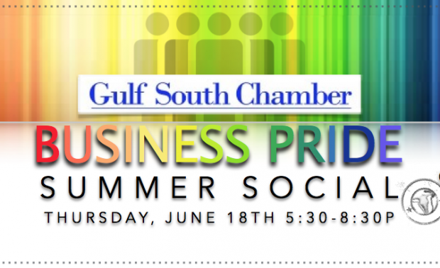 Gulf South Chamber Business Pride Summer Social