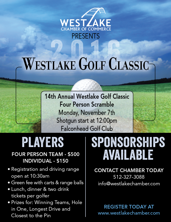 2016 Westlake Golf Classic