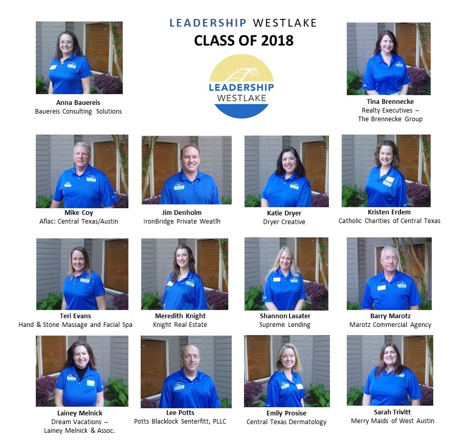 Leadership Westlake Class of 2018