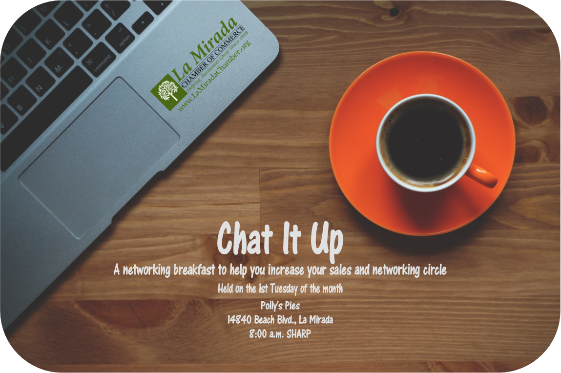 CHAT IT UP FLYER