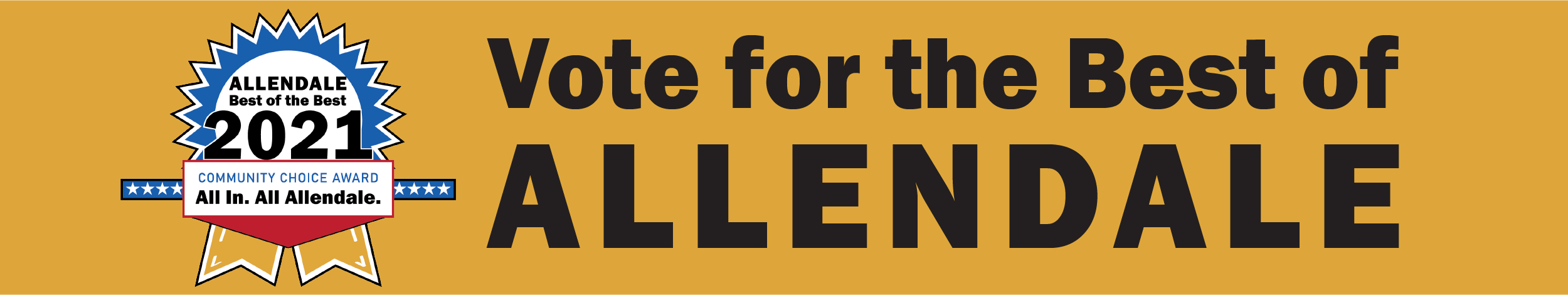 Vote for the Best of Allendale