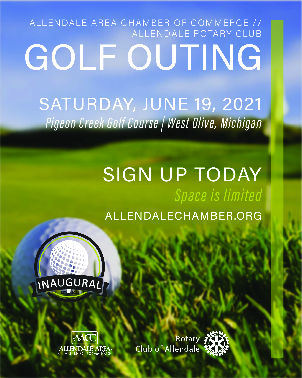 Inaugural Allendale Chamber//Rotary Golf Outing 2021