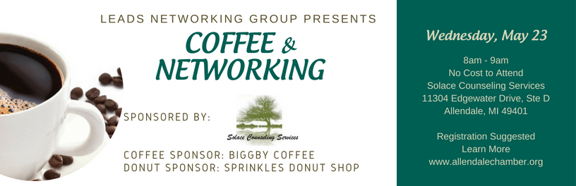 May 2018 Coffee and Networking