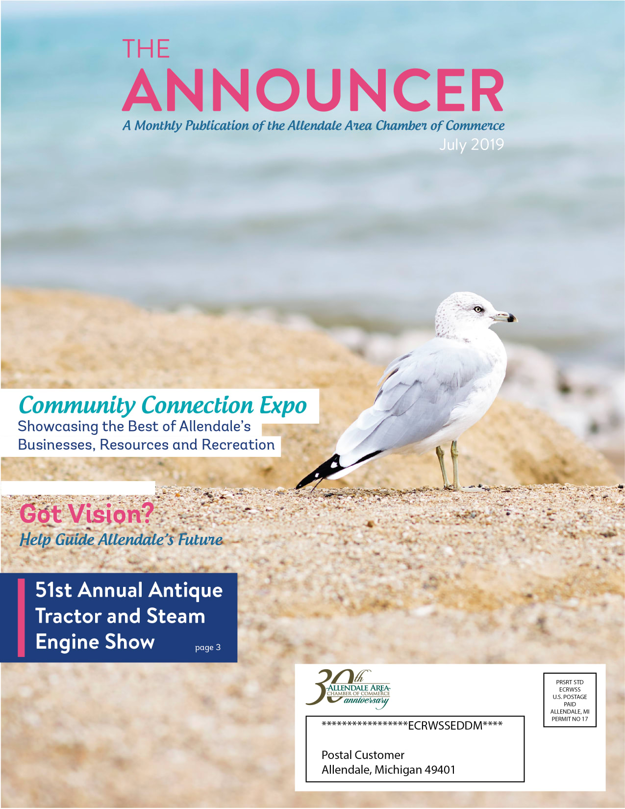 The Announcer July 2019