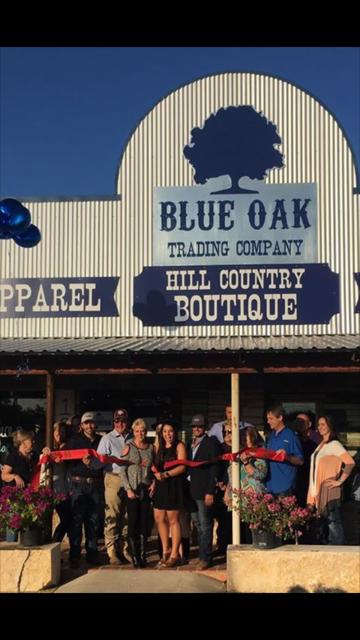 Blue Oak Trading Company Ribbon Cutting & Grand Opening!