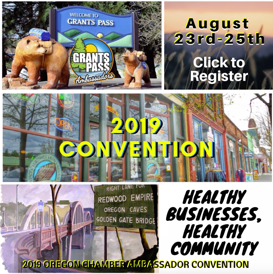 2019 OREGON CHAMBER AMBASSADOR CONVENTION REGISTRATION