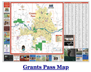 Grants Pass Map