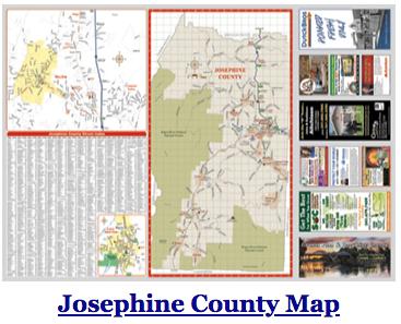 Josephine County Map 2018