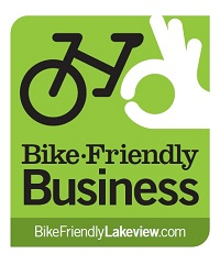 Bike-Friendly Business Decal