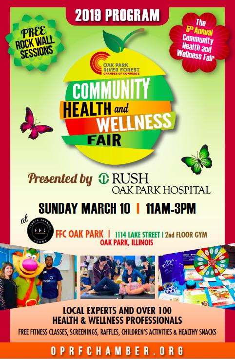 Health Wellness Fair - Oak Park-River Forest Chamber of