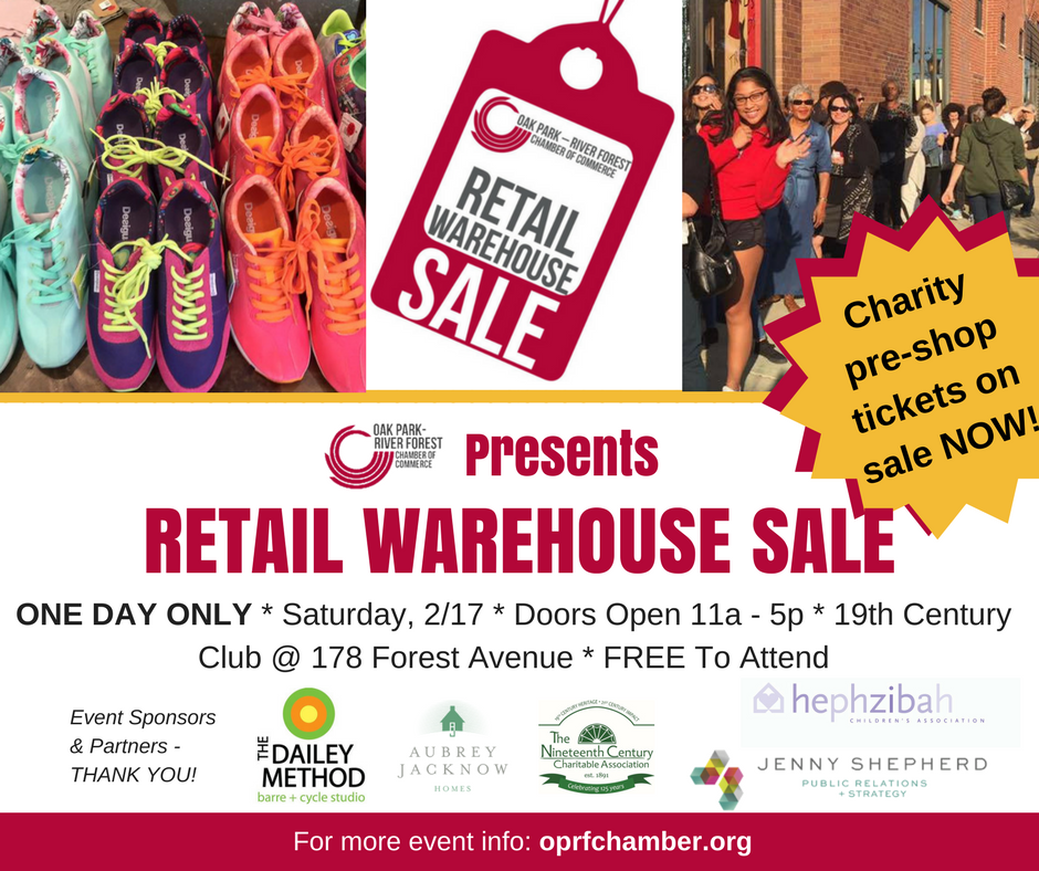 Retail Warehouse: 20 Vendors, 20-80% Off Retail. One Day ONLY!