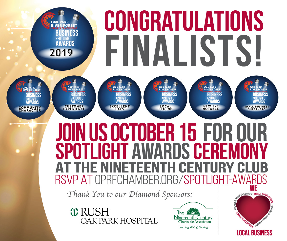 Congrats Finalists - Join Us 10/15!