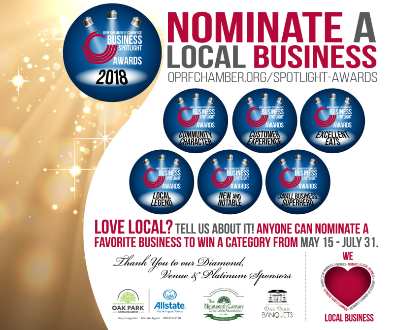 3rd Annual Spotlight Awards - Nominate Your Favorite Business!