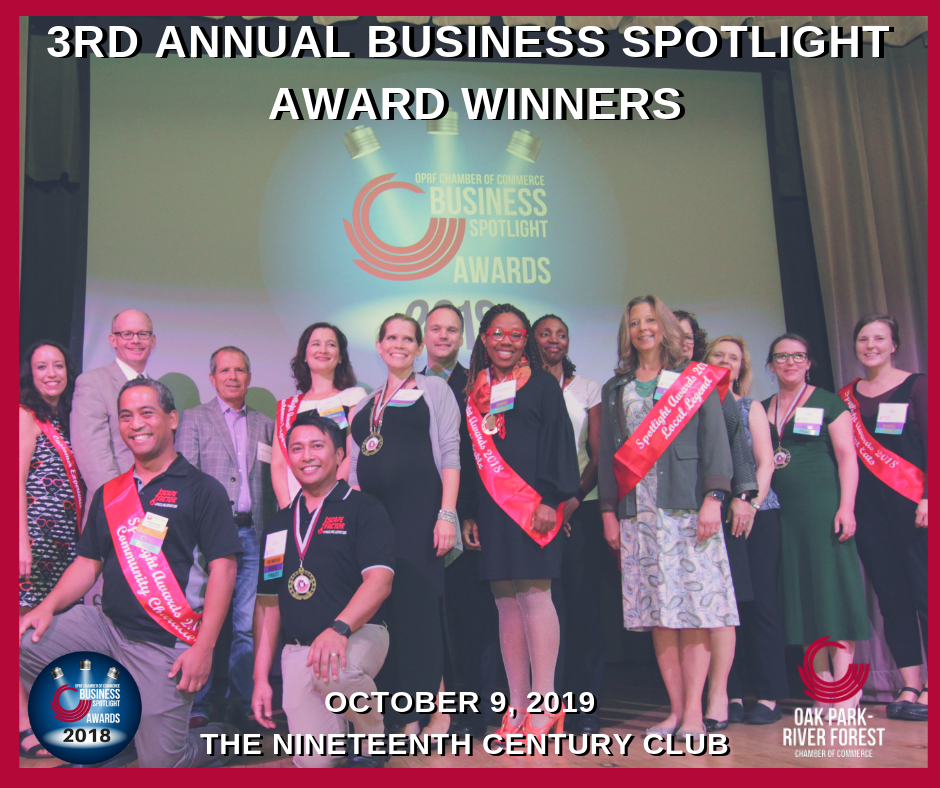 2018 Spotlight Award Winners!