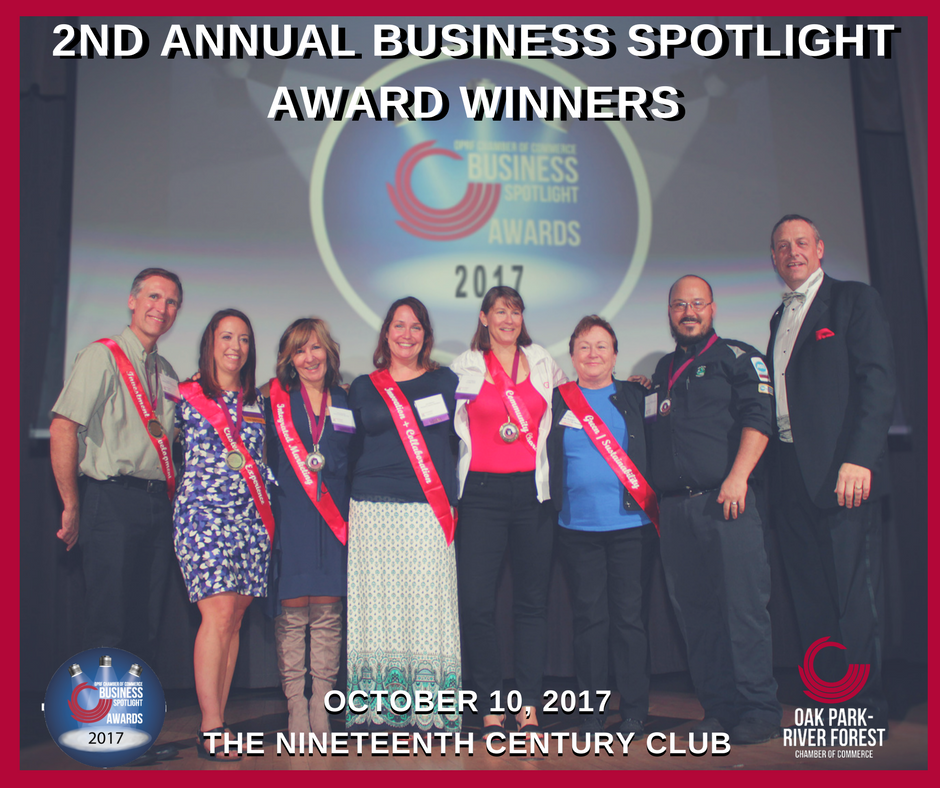 2017 Business Spotlight Award Winners!