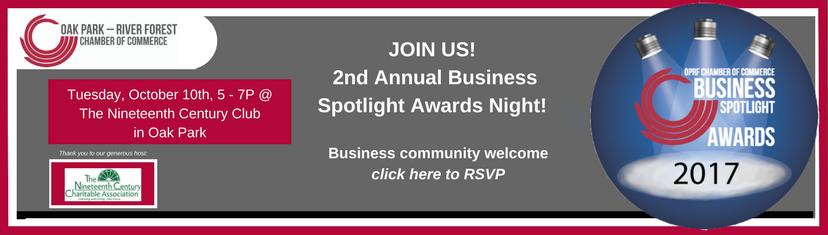 2017 Spotlight Awards Event Info