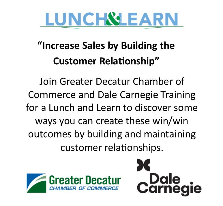A Dale Carnegie Seminar Lunch & Learn