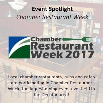 Chamber Restaurant Week 2017