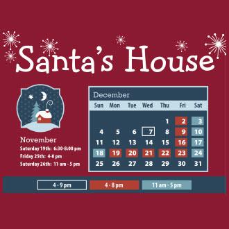 Santa House Downtown Decatur Illinois