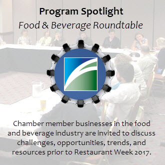 Restaurant Food & Beverage Roundtable Decatur Illinois Greater Decatur Chamber of Commerce