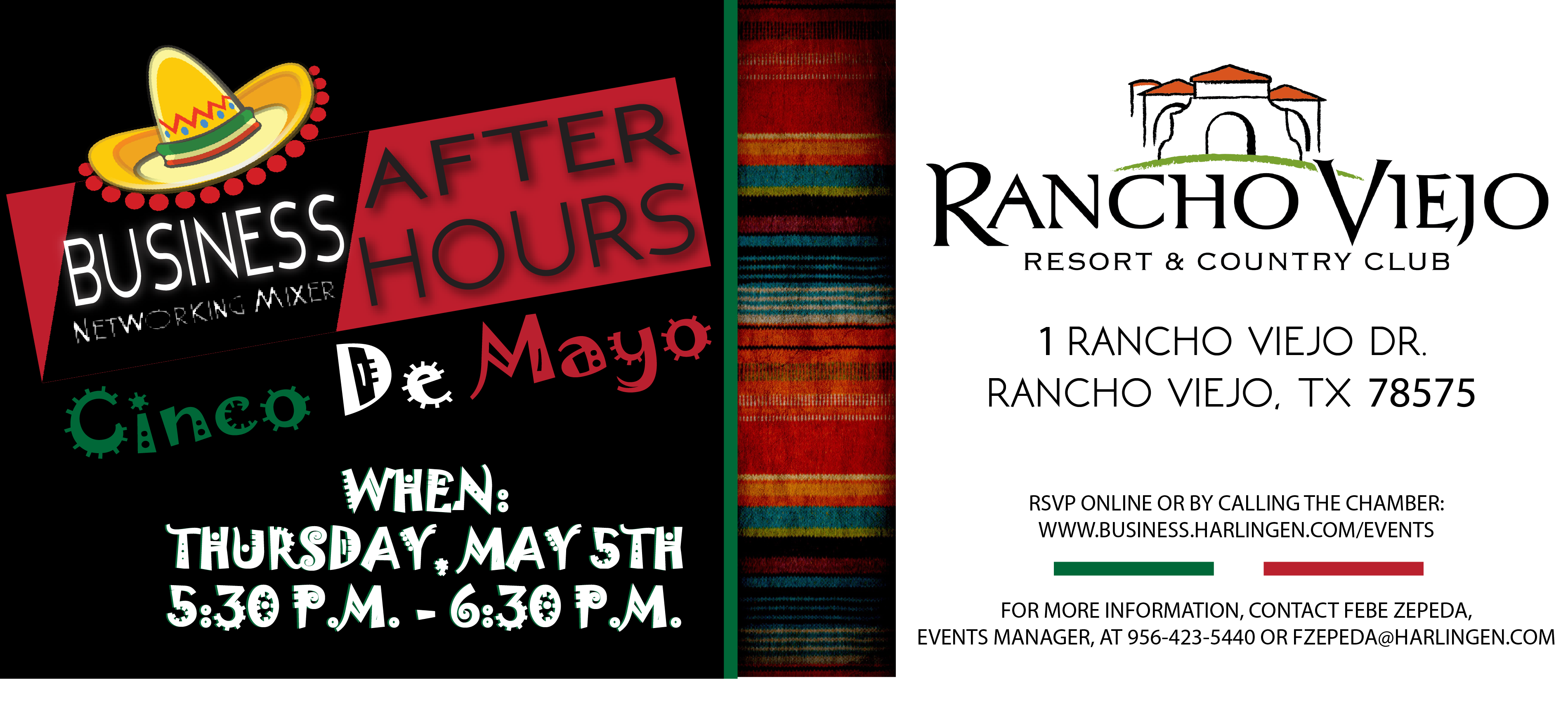 Youth Business Mixer ~ Business after hours mixer at rancho viejo resort