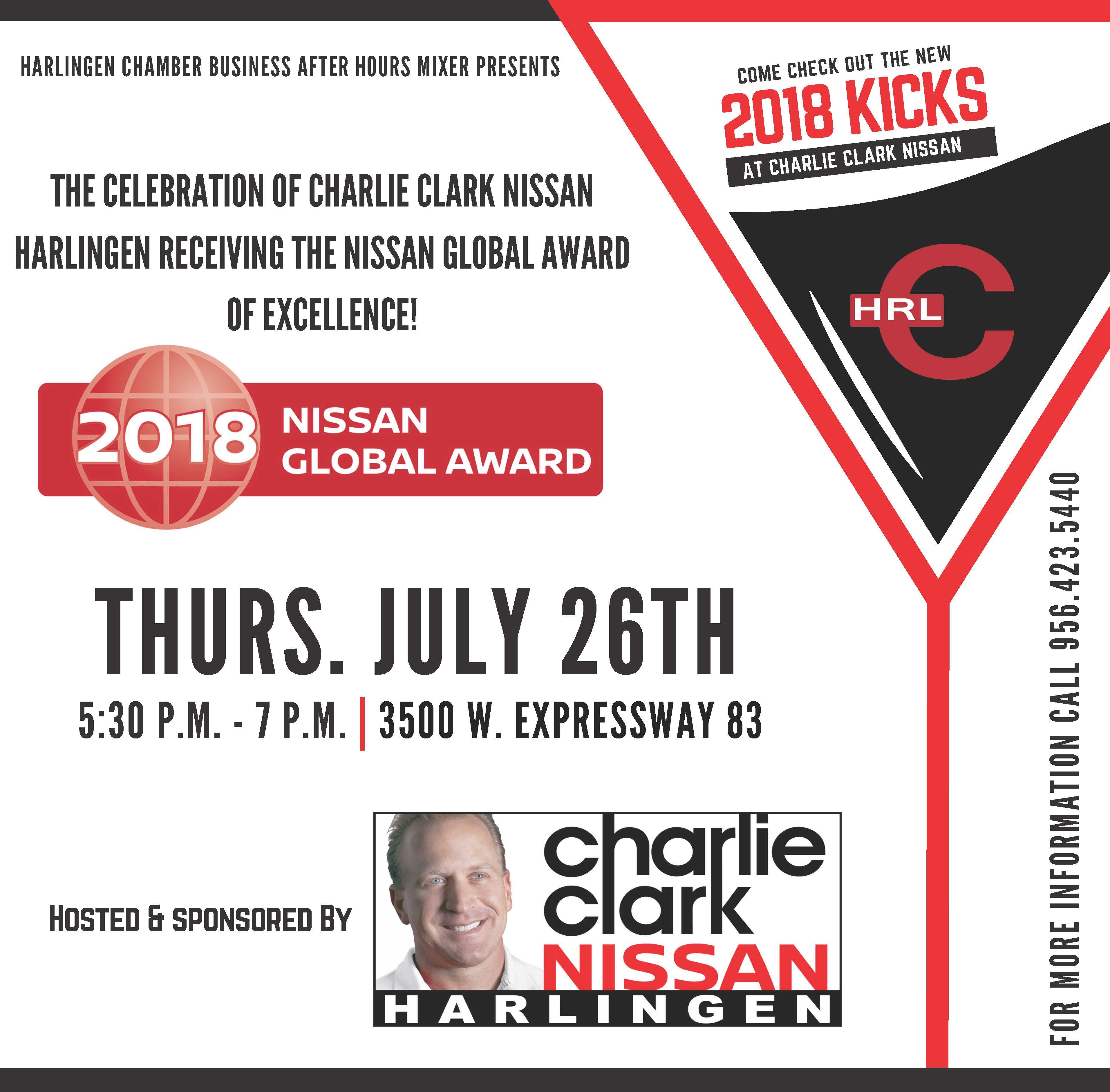 Business After Hours Mixer Charlie Clark Nissan Jul 26 2018